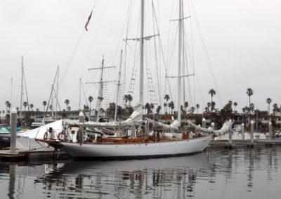 Silently moored